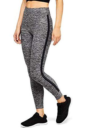 AURIQUE Amazon Brand - Women's Side Stripe 7/8 Sports Leggings, 16