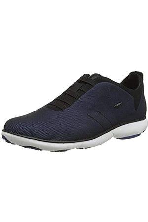 Geox Men's U Nebula A Low-Top Sneakers, (Dk Royal C4072)