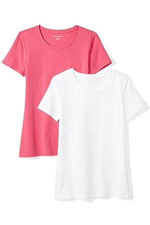 Amazon 2-pack Short-sleeve Crewneck Solid T-shirt Bright / )