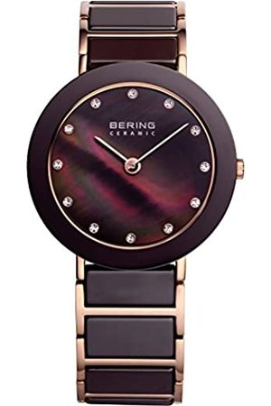 Bering Womens Analogue Quartz Watch with Stainless Steel Strap 11435-765