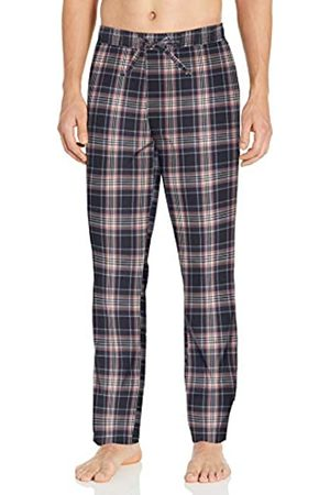Goodthreads Stretch Poplin Pajama Pant Casual, Green Multi Check