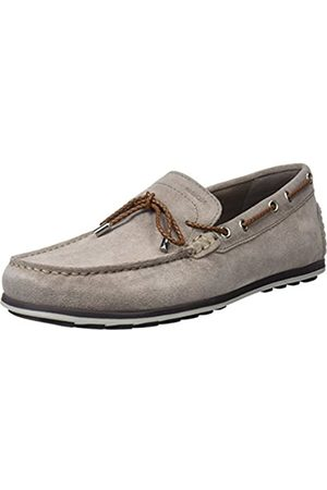 Geox Men U Mirvin B Loafers, (Taupe)