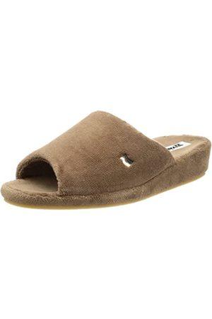 Romika Mens Bologna Slippers (Taupe 306) Size: 47 EU (12 Herren UK)