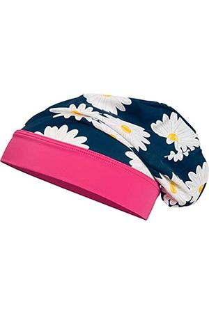 Playshoes Girl's UV-Schutz Beanie Margerite Headband, (Navy)