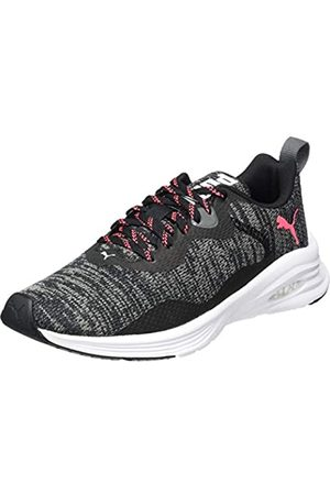 Puma Mujer Hybrid Fuego Knit WN's Zapatillas de Running, Negro /Ignite 04
