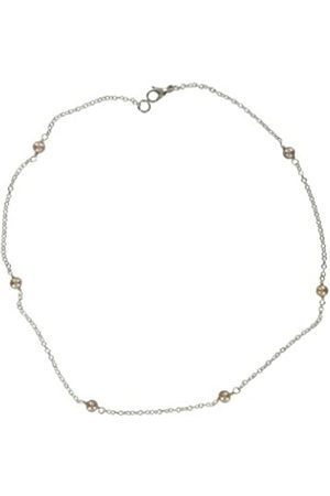 Jane Davis SATC CH042 Sterling linked necklace with Freshwater Pearl 42cm