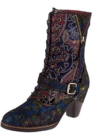 Laura Vita Women's Alizee 118 Ankle Boots, (Bleu Bleu)