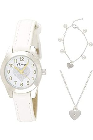 Ravel Children's 'Little Gems' Watch and Plated Jewellery Set