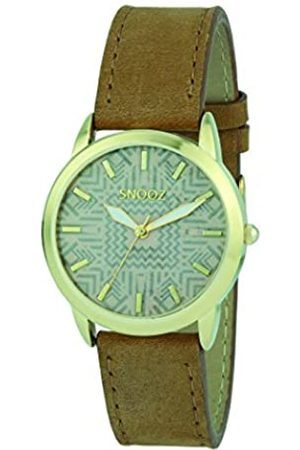 Snooz Women's Analogue Quartz Watch with Leather Strap Spa1039-82