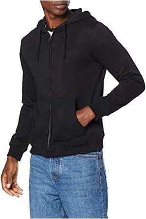 Build Your Brand Men's Heavy Zip Hoody Jacket