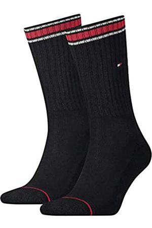 Tommy Hilfiger Men's TH Iconic Sock Sports 2P