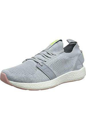 Puma Women's NRGY Neko Engineer Knit WNS Running Shoes, Quarry-Bridal Rose
