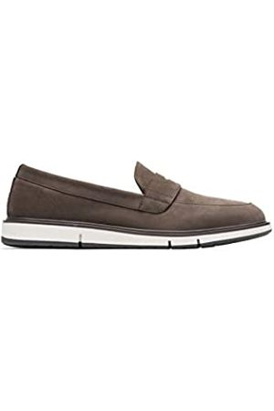 SWIMS Men's Motion Penny Loafers, ( /Olive 180)