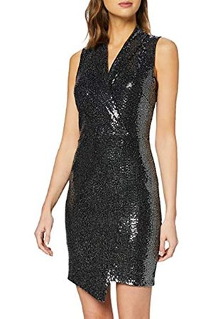 New Look Women's GO SEQUIN JERSEY TUX DRESS Casual
