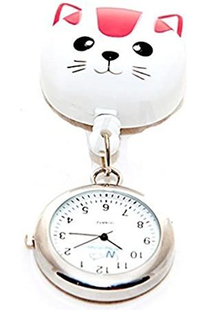 FunkyFobz Cat Retractable Pulley Watch Nurse Doctor Midwife