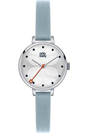 Orla Kiely Women's Analogue Quartz Watch with Leather Strap – OK2015