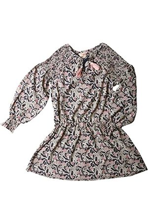VITIVIC Baby Girls' India Flores Rosa-Azul Cover Up