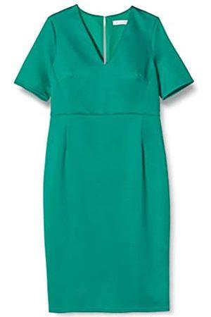 TRUTH & FABLE Amazon Brand - Women's Midi Bodycon Dress, 6