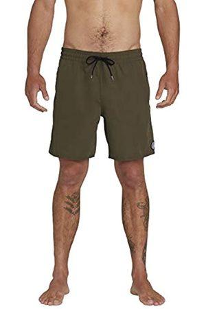 Volcom Lido Solid Trunk 16 Men's Swimming Shorts, Mens, A2512005