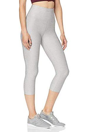 AURIQUE Amazon Brand - Women's High Waisted Capri Sports Leggings, 14