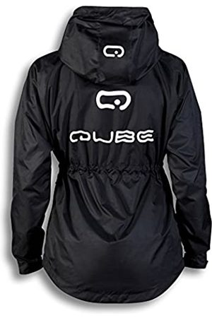 Qube Women Windbreaker Jackets Running Jackets rain Jackets Outdoor Training Jackets (Medium)