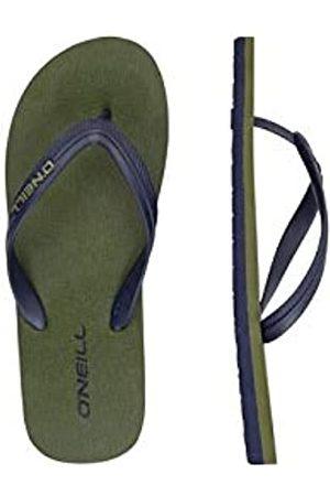 O'Neill Men's Fm Profile Small Logo Sandalen Flip Flops, (Winter Moss 6077)