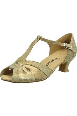 Diamant Women's Damen Tanzschuhe 019-011-311 Ballroom Dance Shoes, (Bronze Magic)