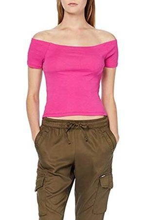 Urban classics Women's Ladies Off Shoulder Rib Tee Vest