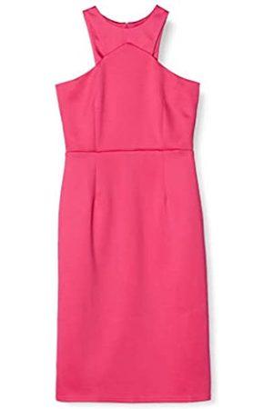 TRUTH & FABLE Amazon Brand - Women's Midi Bodycon Dress, 10