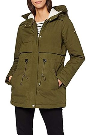 TOM TAILOR Women's Parka with Teddy Fur Coat