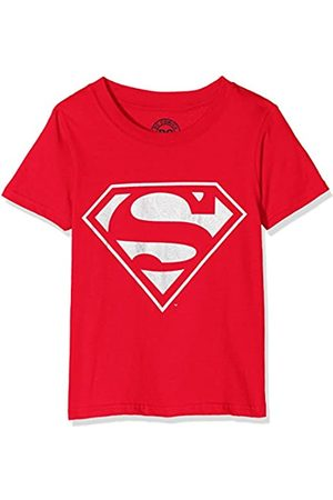 DC Comics Boys Superman Mono Silver T-Shirt