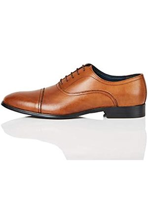 FIND Amazon Brand - Men's Oxfords, (Classic Tan)