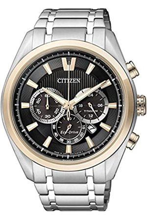 Citizen Men's Watch XL Super Titanium Chronograph Quartz Titanium CA4014 57E