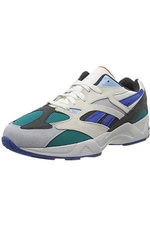 Reebok Unisex Adults' Aztrek 96 Gymnastics Shoe, Chalk/Seaport Teal/Humble