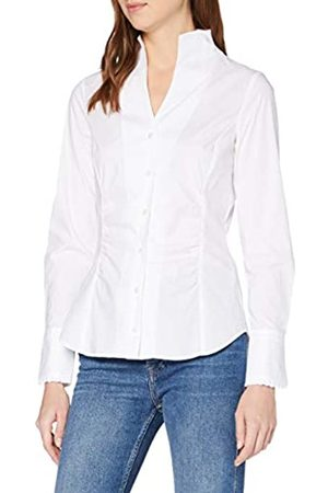 Seidensticker Women's Long - regular Blouse - - Weiß (01) - 10 (Brand size: 36)