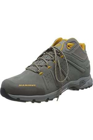Mammut Men's Convey Mid GTX High Rise Hiking Shoes, (Gargoyle-Golden 00378)