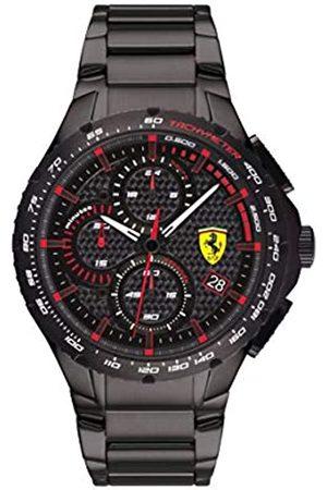 Scuderia Ferrari Men's Analogue Quartz Watch with Stainless Steel Strap 0830730