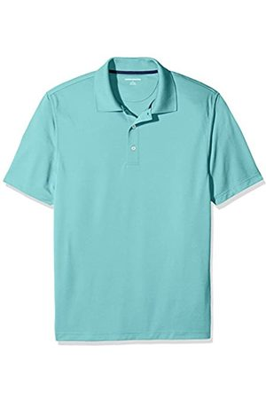 Amazon Regular-Fit Quick-Dry Golf Polo Shirt Aqua