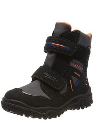 Superfit Boys' Husky Snow Boots, (Schwarz/ 04)