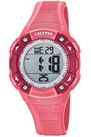 Calypso Unisex-Child Digital Quartz Watch with Plastic Strap K5728/2