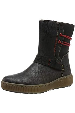 Rieker Women's Herbst/Winter Ankle Boots, (Schwarz/Schwarz/Schwarz / 00 00)