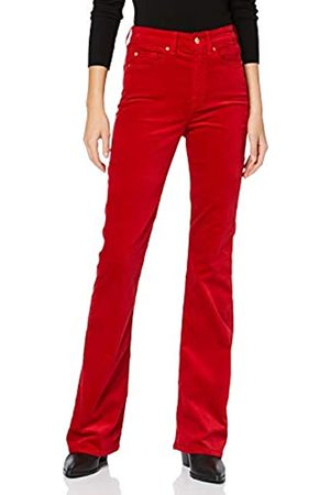 7 For All Mankind Women's Onlwooly L/s O-Neck Top JRS Bootcut Jeans