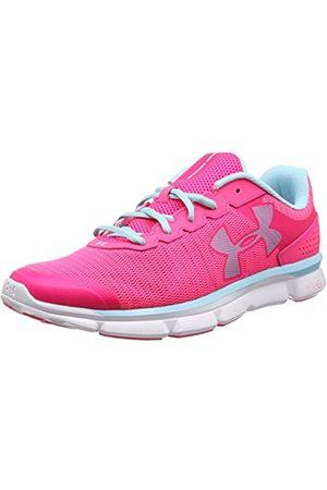 Under Armour Women's UA W Micro G Speed Swift Running Shoes, Hyper/ /Skyblue