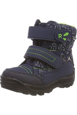 Richter Kinderschuhe Richter Kids Shoes Boys Freestyle Snow Boots, Blau (Atlantic/Apple 7202)