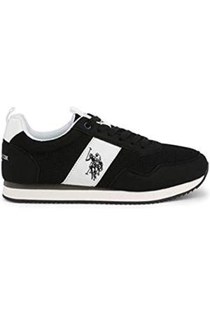 U.S.POLO ASSN. US Polo Association Men's Exte Gymnastics Shoes, (Blk 004)