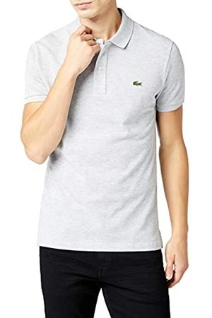 Lacoste Ph4012 - Polo Shirt - Men's, Gray (Heathered Silver)