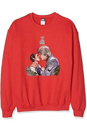 STAR WARS Men's Christmas Mistletoe Kiss Sweatshirt