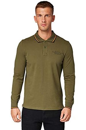 TOM TAILOR Men's Basic Langarm Polo Shirt