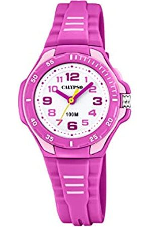 Calypso watches Unisex Child Analogue Classic Quartz Watch with Plastic Strap K5757/3