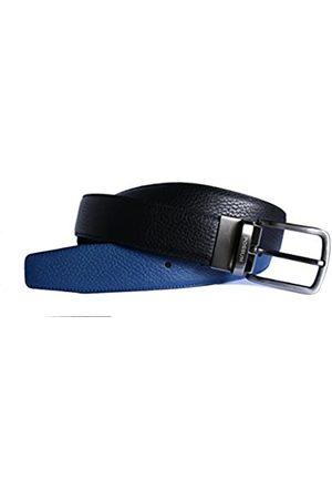 Póssum Men's 10034 Belt, (Negro/Azul 004)